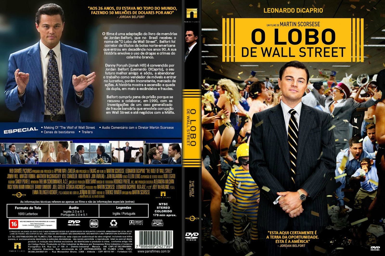 MTtVOOE O Lobo De Wall Street Torrent   BluRay Rip 720p | 1080p Dual Áudio 5.1 (2014)