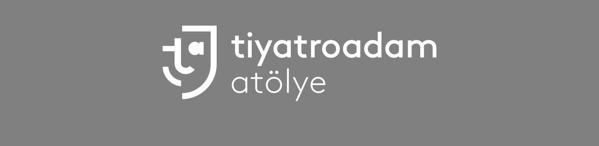 Tiyatroadam logo atolye gri2