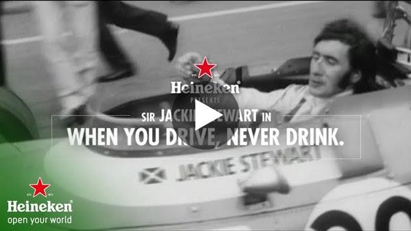 Heineken presents - Jackie Stewart in: When You Drive, Never Drink.