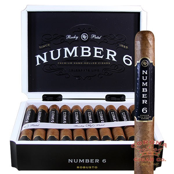 Image of Rocky Patel Number 6 Robusto Cigars