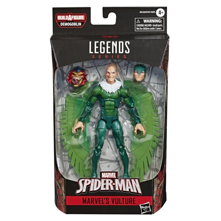 Image of Spider-Man Marvel Legends 6-Inch Action Figures Wave 1 (BAF Demogoblin)- Vulture