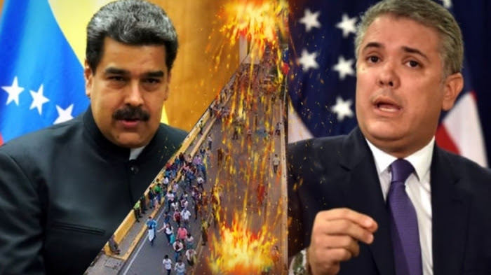 Maduro guerra con Colombia