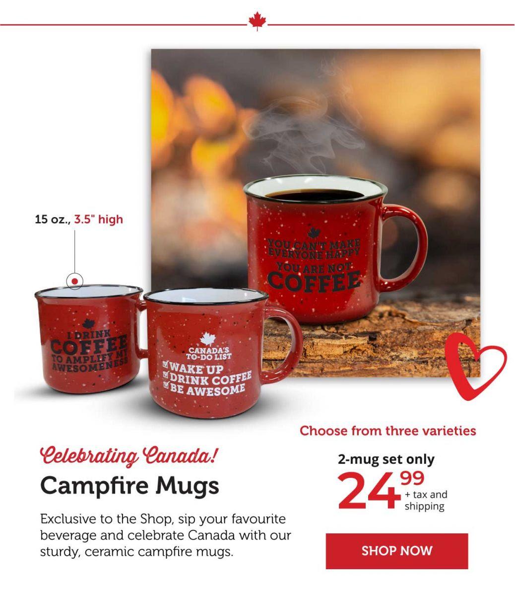 Campfire Mugs