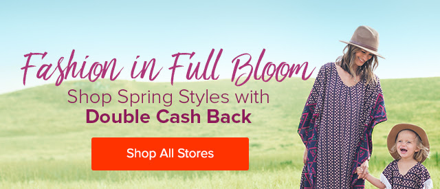 Shop Presidents Day Sales with Double Cash Back