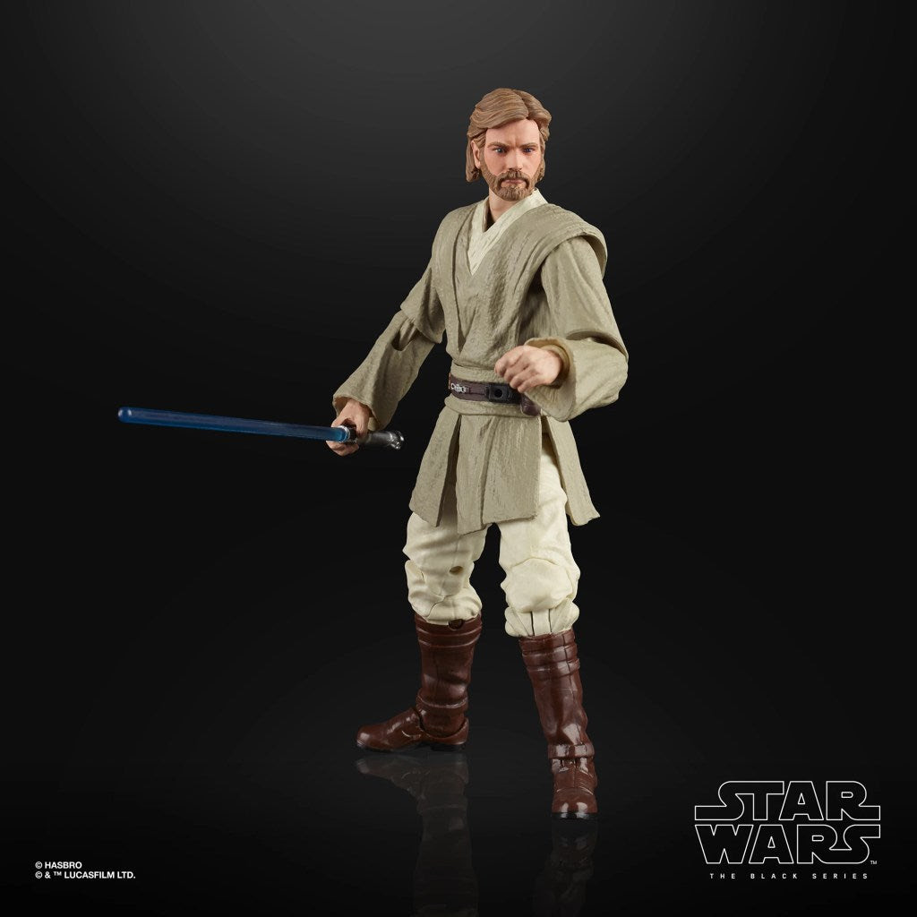 Image of Star Wars The Black Series Obi-Wan Kenobi (AOTC) 6-Inch Action Figure