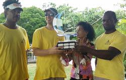 Mike Morse and crew- winners of J/22 Mallasch regatta