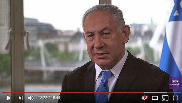 netanyahu bbc