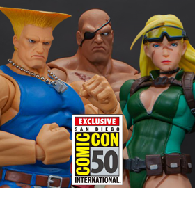 STORM COLLECTIBLES SDCC 2019 STREET FIGHTER 1/12 SCALE FIGURES