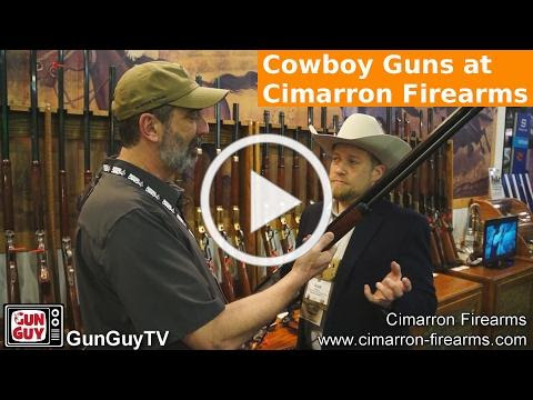 Cowboy Guns at Cimarron Firearms