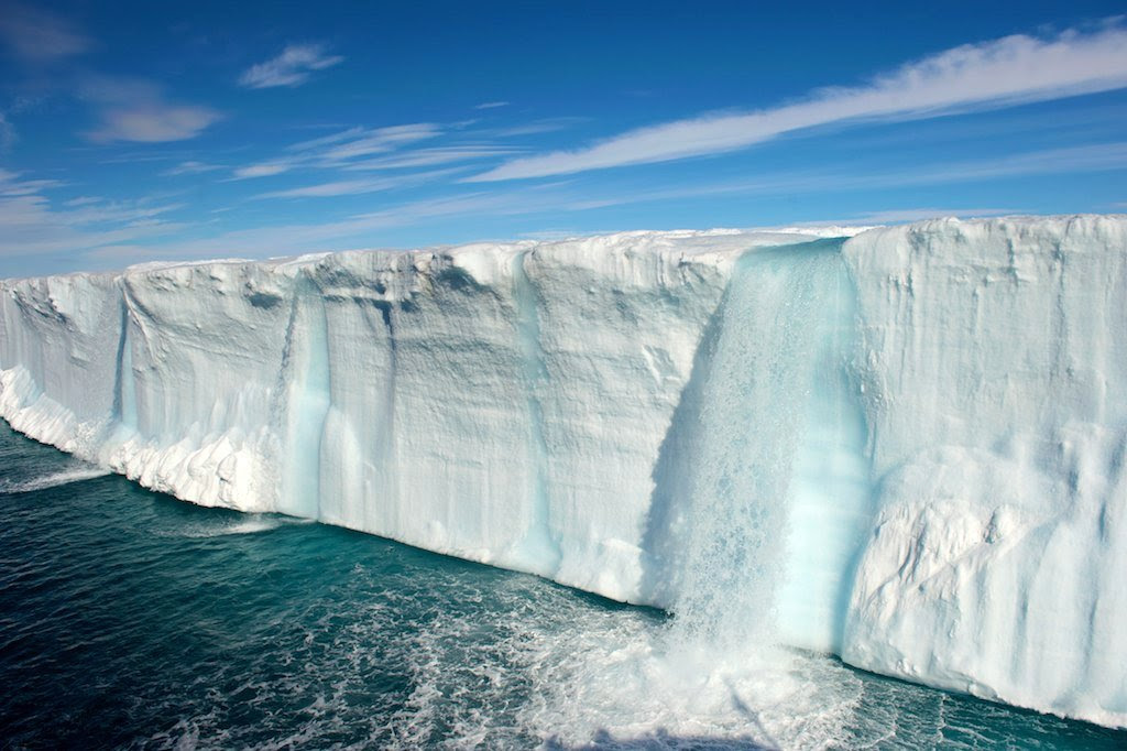 http://twistedsifter.com/2013/04/glacial-waterfalls/