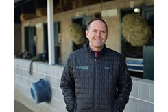Chad Brown at Keeneland