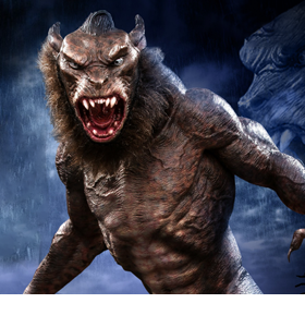 UNDERWORLD EVOLUTION LYCAN SOFT VINYL STATUES