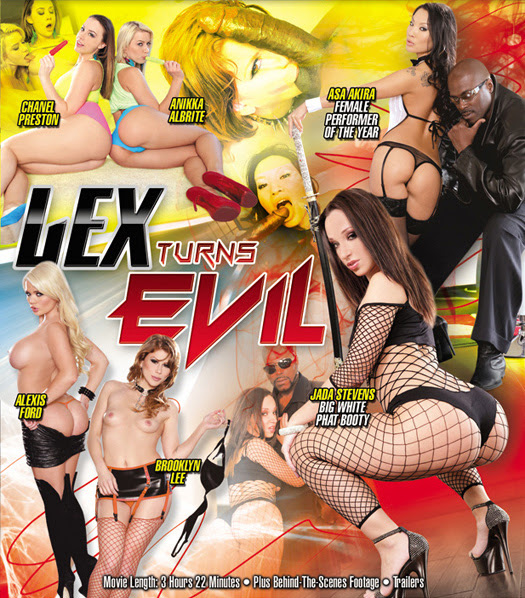 Evil Angel's newest director, Lexington Steele presents his debut: Lex Turns Evil!
