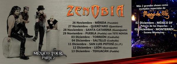 Zenobia MEXICO Tour - Promo (Medium)