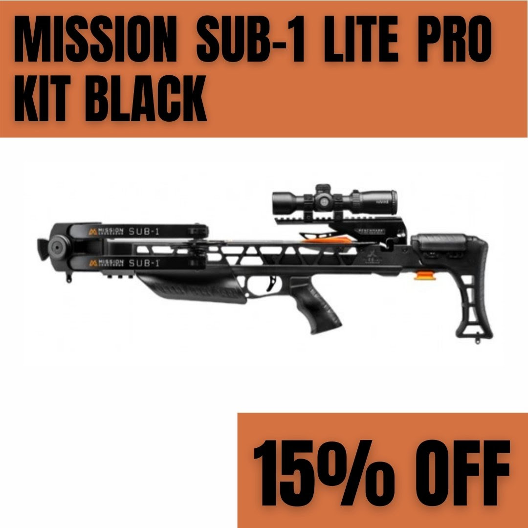 2020 Cyber monday Mission Crossbow Deals