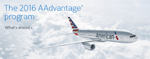 The 2016 AAdvantage program