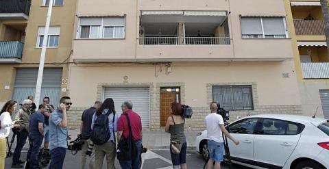 Fachada de la vivienda en Benisanó (Valencia) del delegado del Gobierno en la Comunidad Valenciana, Serafín Castellano. /EFE