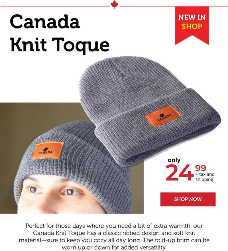 Canada Knit Toque