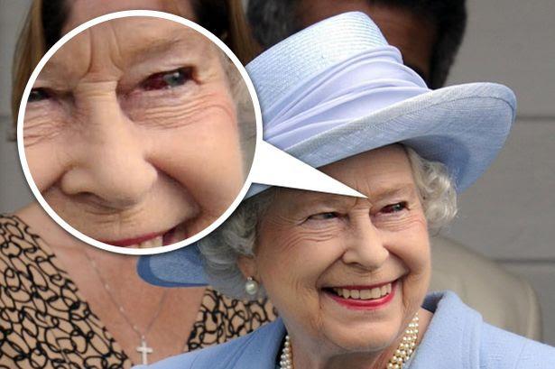 Queen+Elizabeth+II+with+a+red+eye