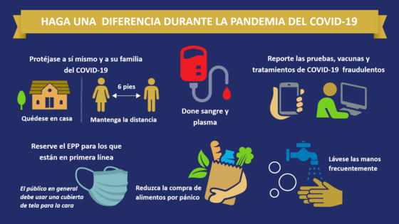 make a difference pandemic span
