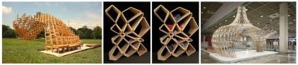 """Artesanía Bejarano 0280-intro-6 """"Root Bench"""", mobiliario urbano en Corea del Sur. Ingenioso laberinto circular demadera. Noticias"""