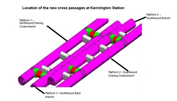 TfL Press Release - Reminder: Vital Northern Line Extension work means Bank branch trains will not stop at Kennington from May to September