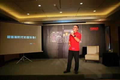 Dr. Xiao compartilha as últimas notícias sobre os jogos e séries de TV mais recentes da Perfect World com jornalistas (PRNewsfoto/Perfect World)