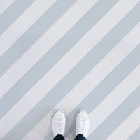 Slant | Diagonal Stripe Flooring