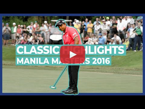 Gaganjeet Bhullar Wins the Shinhan Donghae Open 2016 | Classic Highlights