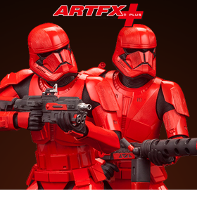 Star Wars ArtFX+ Sith Trooper Statue Two-Pack (The Rise of Skywalker)