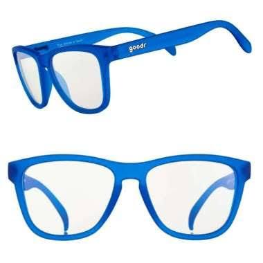 HLSPORT GOODR Kacamata Blue Shades of Death GAME dengan Lensa Clear Anti Blue Light.