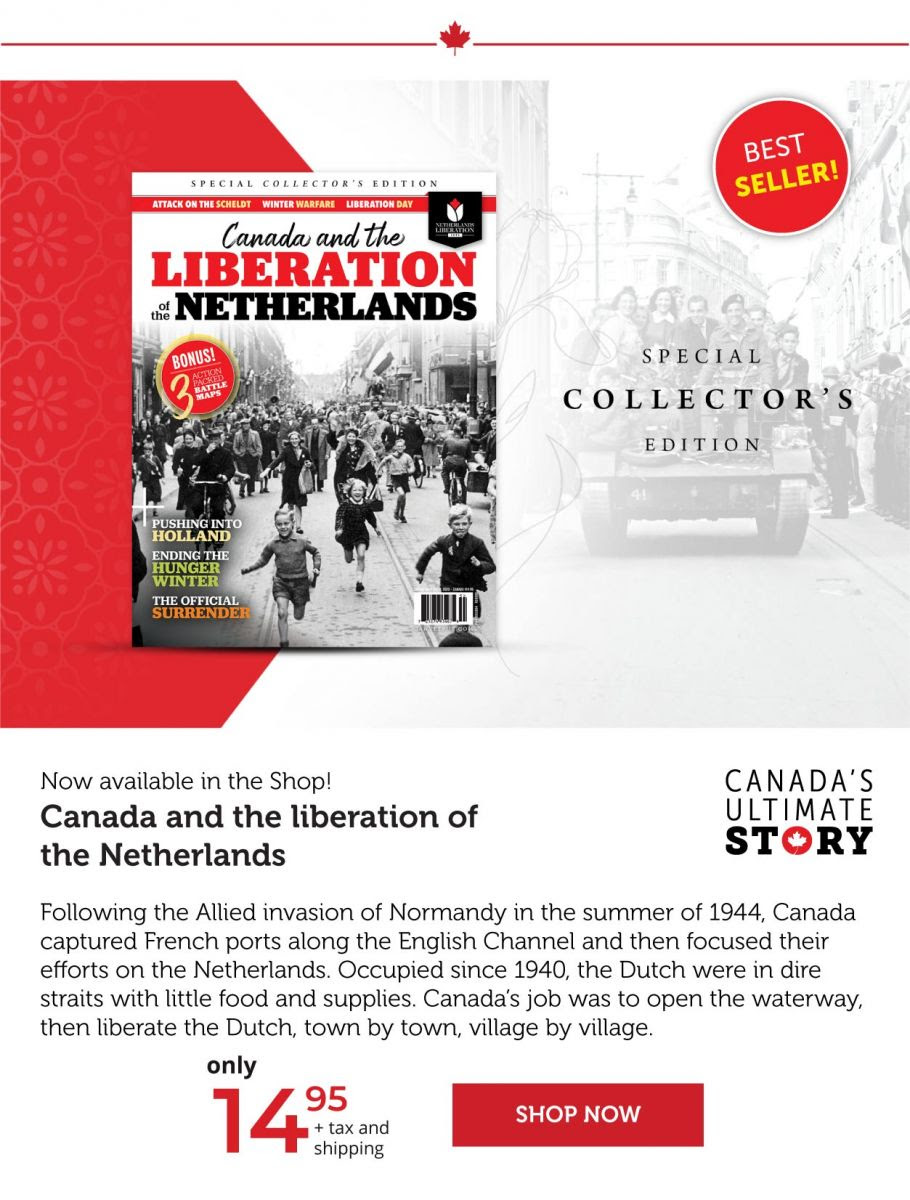 BEST-SELLING Canada and the Liberation of the Netherlands
