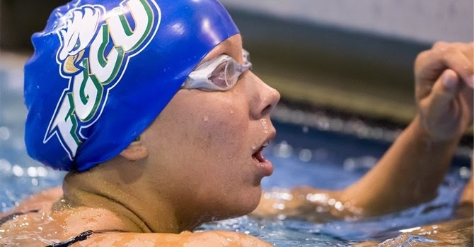 Emma Svensson Puts @FGCU_WSWIM on the Board to Start NCAA Championships