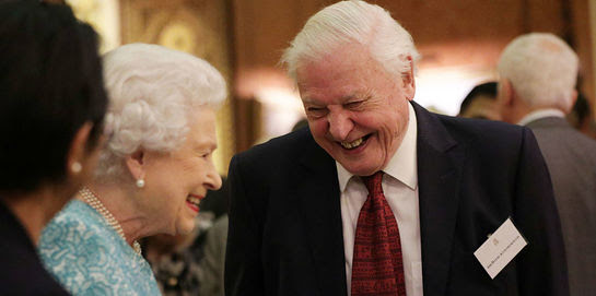 The Queen and David Attenborough