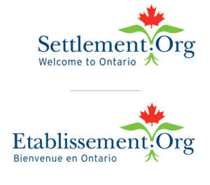 Logos of Settlement.org and Etablissement.org