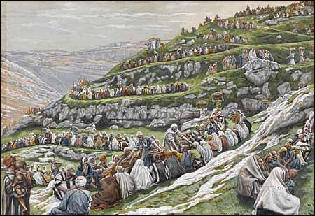 Jesus feeding the multitude