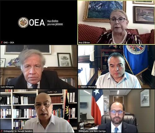 Nuevo Representante de Chile presenta credenciales