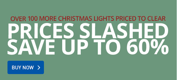 Save up to 60% off final christmas lights clearance at GraysOnline.com