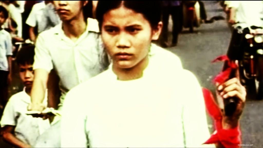 """Hình chụp lại màn ảnh trong phim """"Những ngày cuối cùng ở Việt Nam"""". Nguồn PBS."""