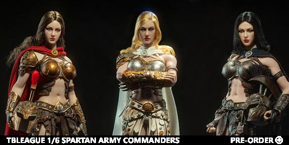 Spartan Army Commander 1/6 Scale Figures