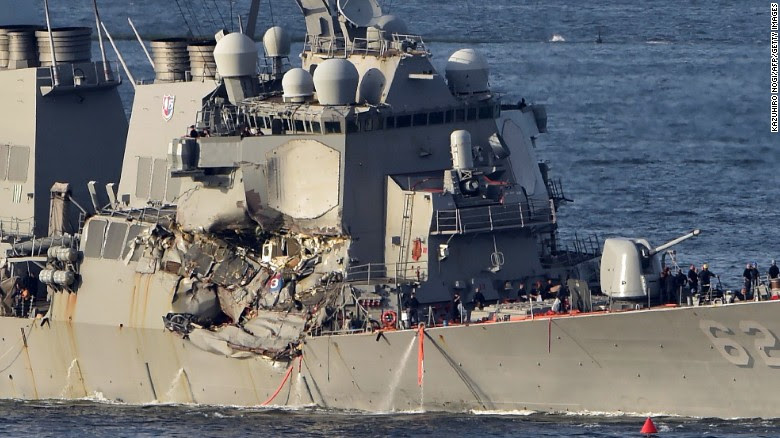 Stealth Attack on USS Fitzgerald Delivers HUGE Message to Deep State!