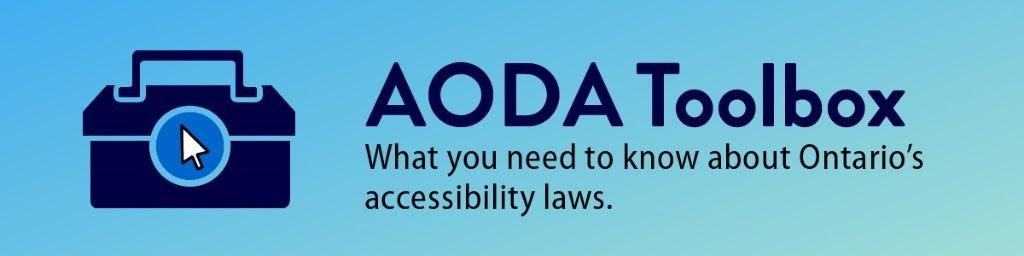 AODA Tool Box