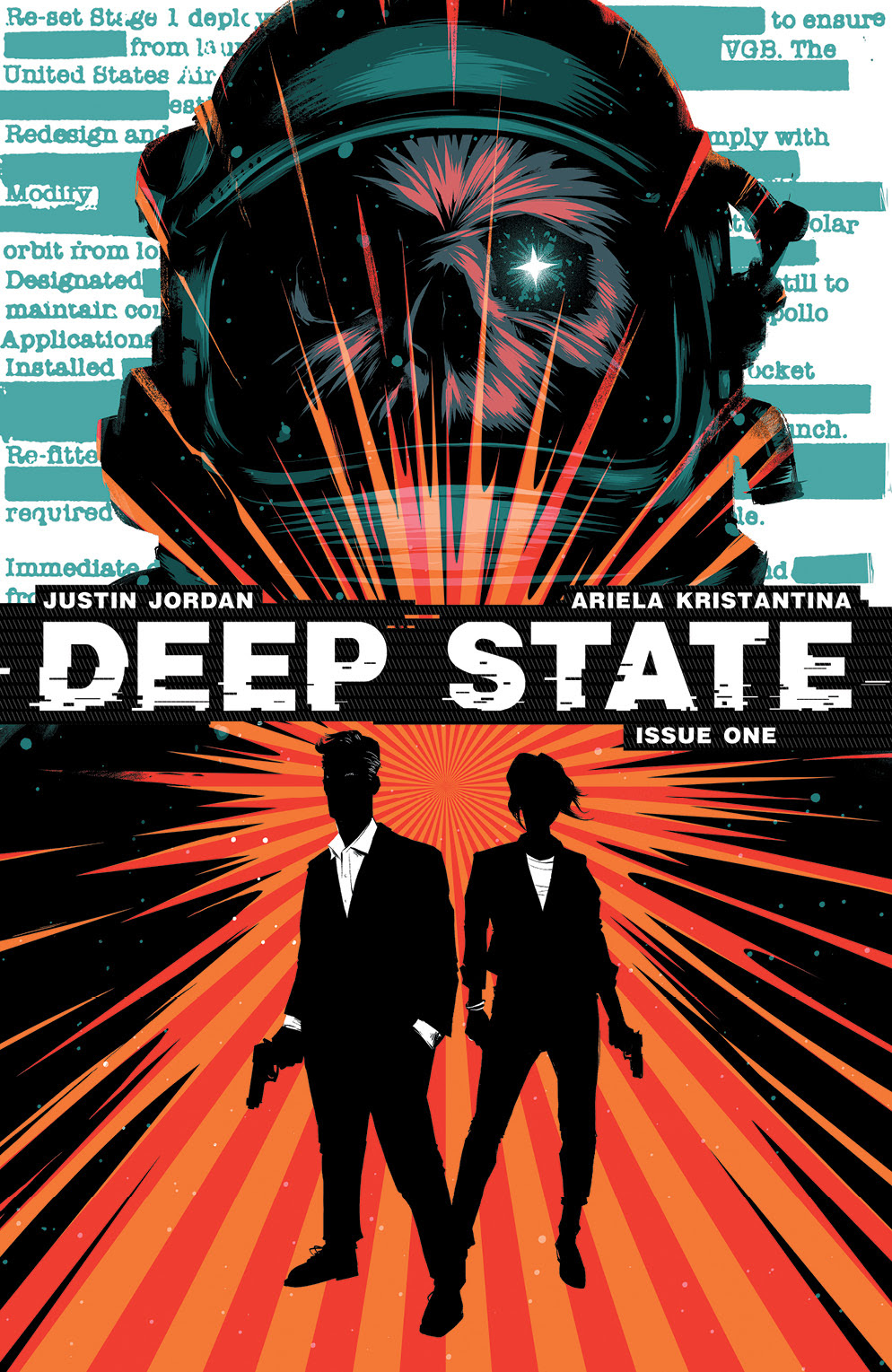Deep State #1 Main Cover