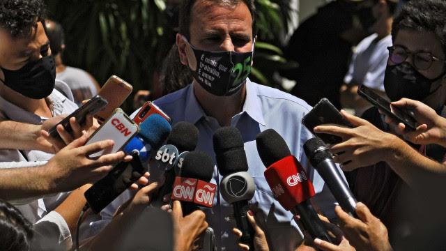 Paes anuncia 4 dias de festa no Rio em setembro para comemorar o 'fim da pandemia'