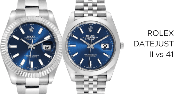 Datejust II vs 41