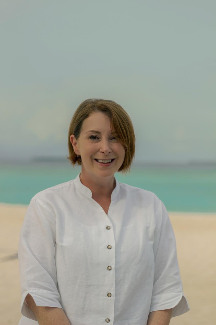 Karen Merrick, General Manager of JA Manafaru Maldives