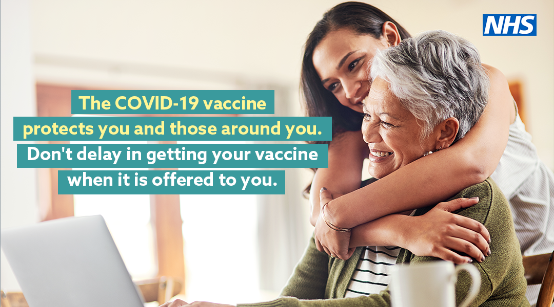 Don't delay your COVID-19 vaccination