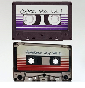 Guardians of the Galaxy: Cosmic Mix Vol. 1 Cassette