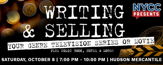 "NYCC presents ""Writing and Selling"""
