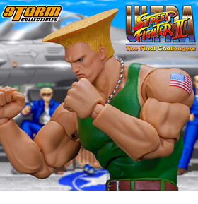 STREET FIGHTER GUILE 1/12 SCALE FIGURE